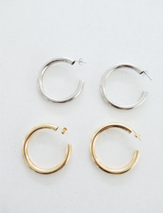 hoop earrings(2c)
